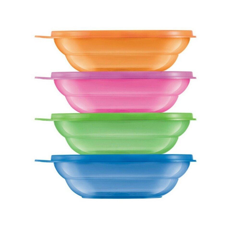 Tupperware Fun Bowls Set (4) 450ml-Limited