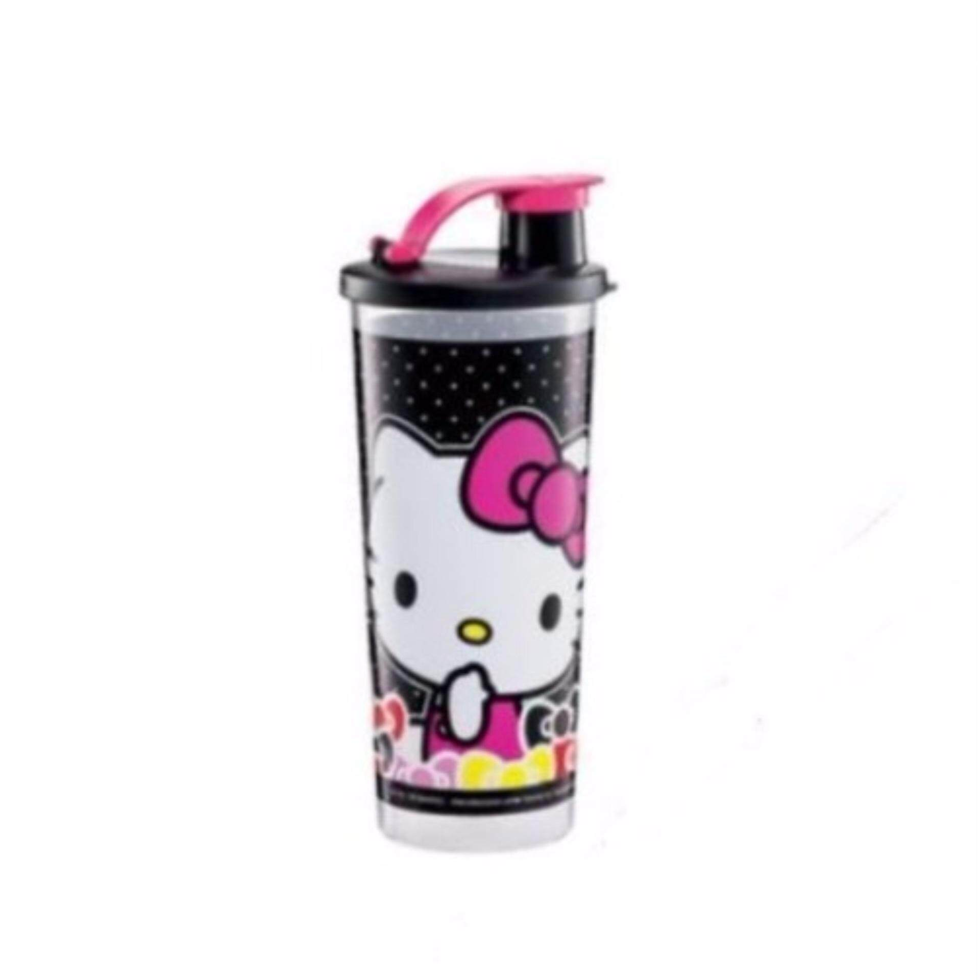 Tupperware Hello Kitty Giant Tumbler (1) 470ml -Black