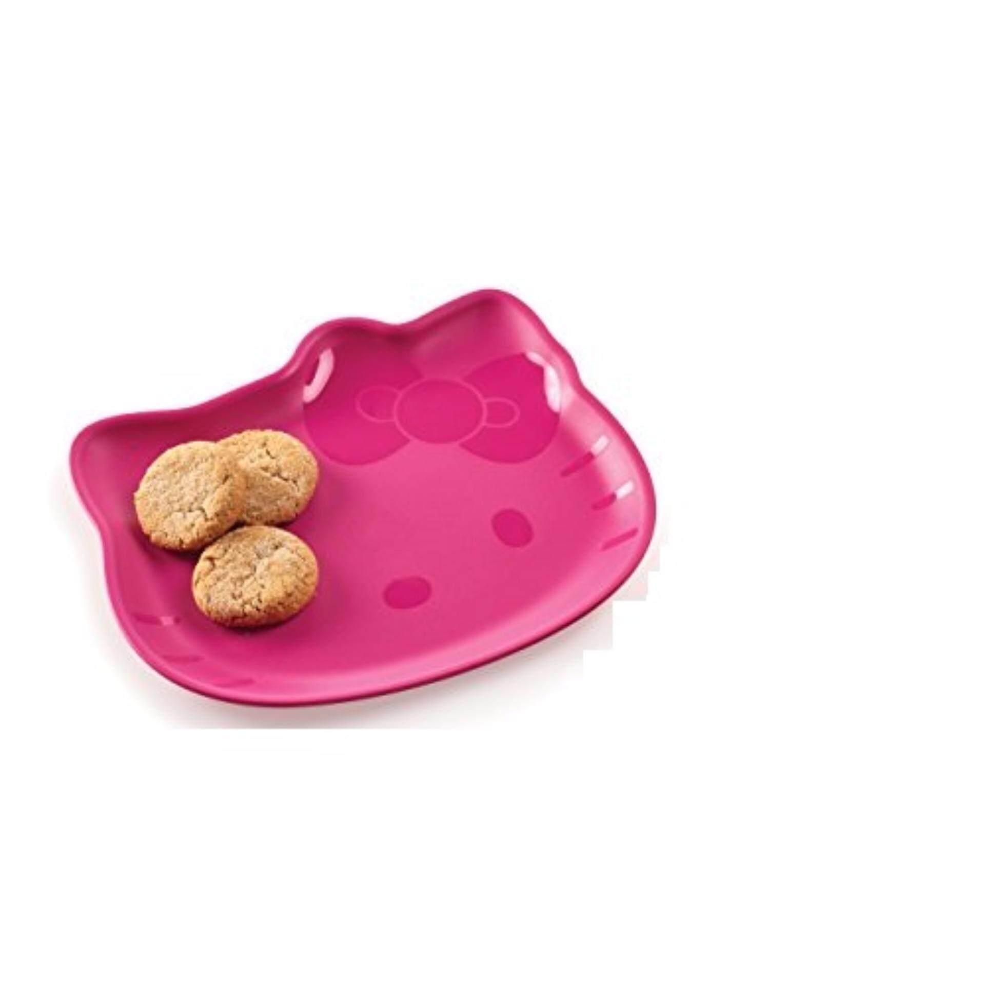 Tupperware Hello Kitty Plates (2) Random Color Send