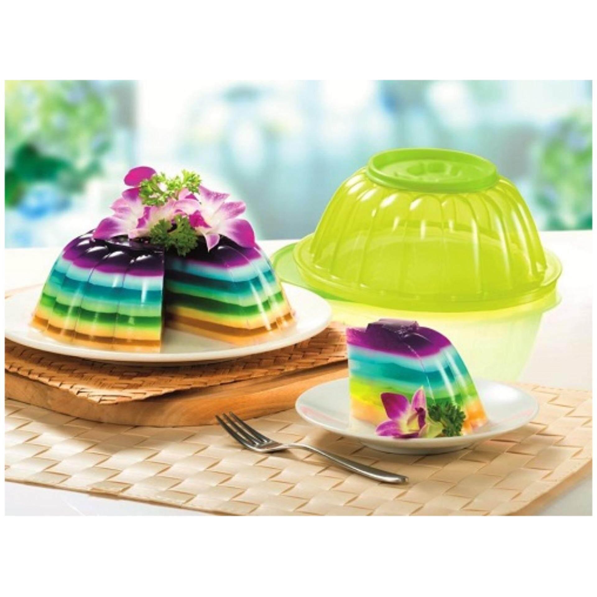 Tupperware Jel N Serve (1) 1.1L (Jelly Maker) - Green