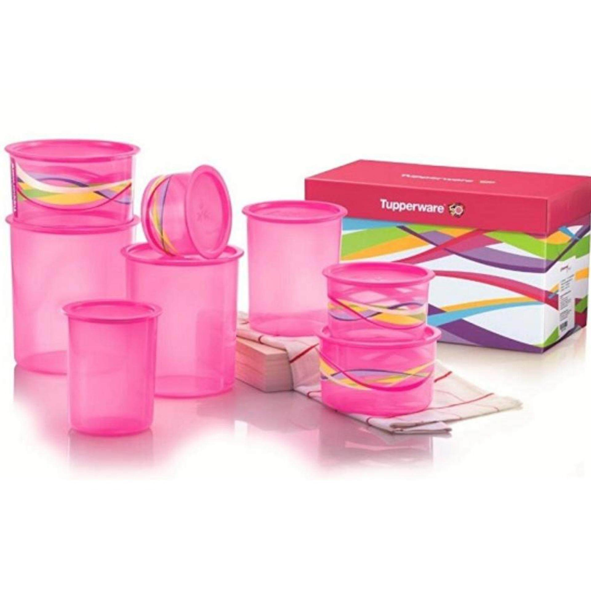 Tupperware Lovely One Touch Set (8)