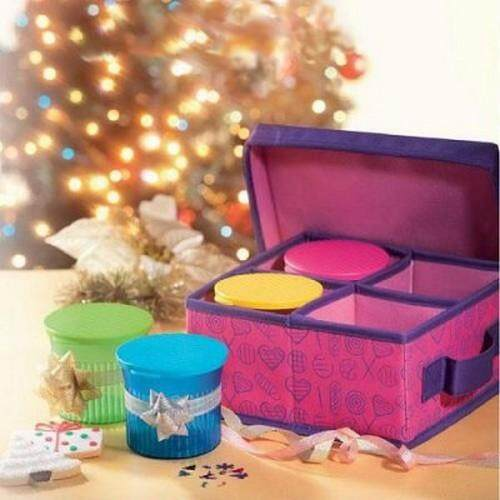 Tupperware Multipurpose Pink Organizer Only Limited Release