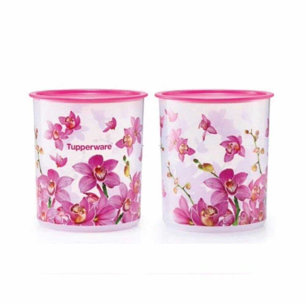 Tupperware Orchid Elegance OT Canister Large (1)pc 4.3L only