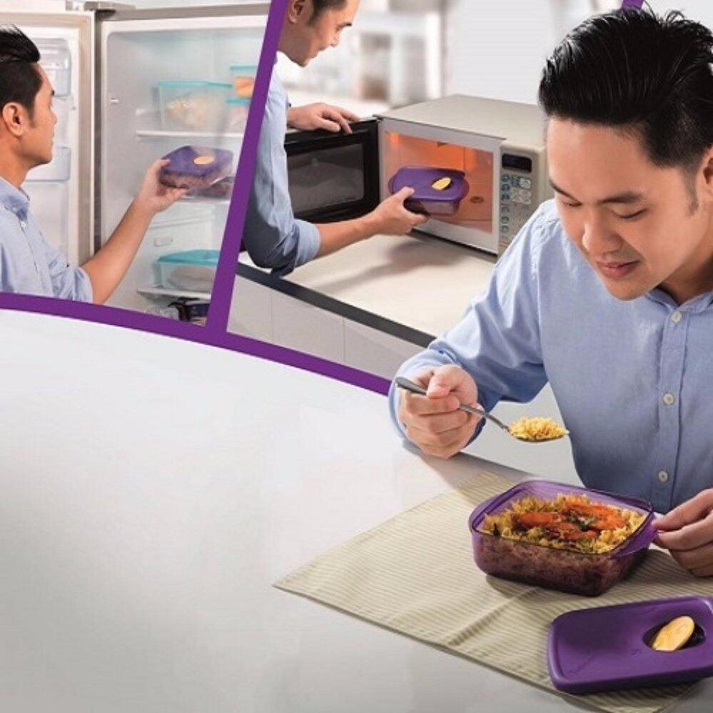 Tupperware Rock N Serve (1) 600ml (Microwave Lunch Box)