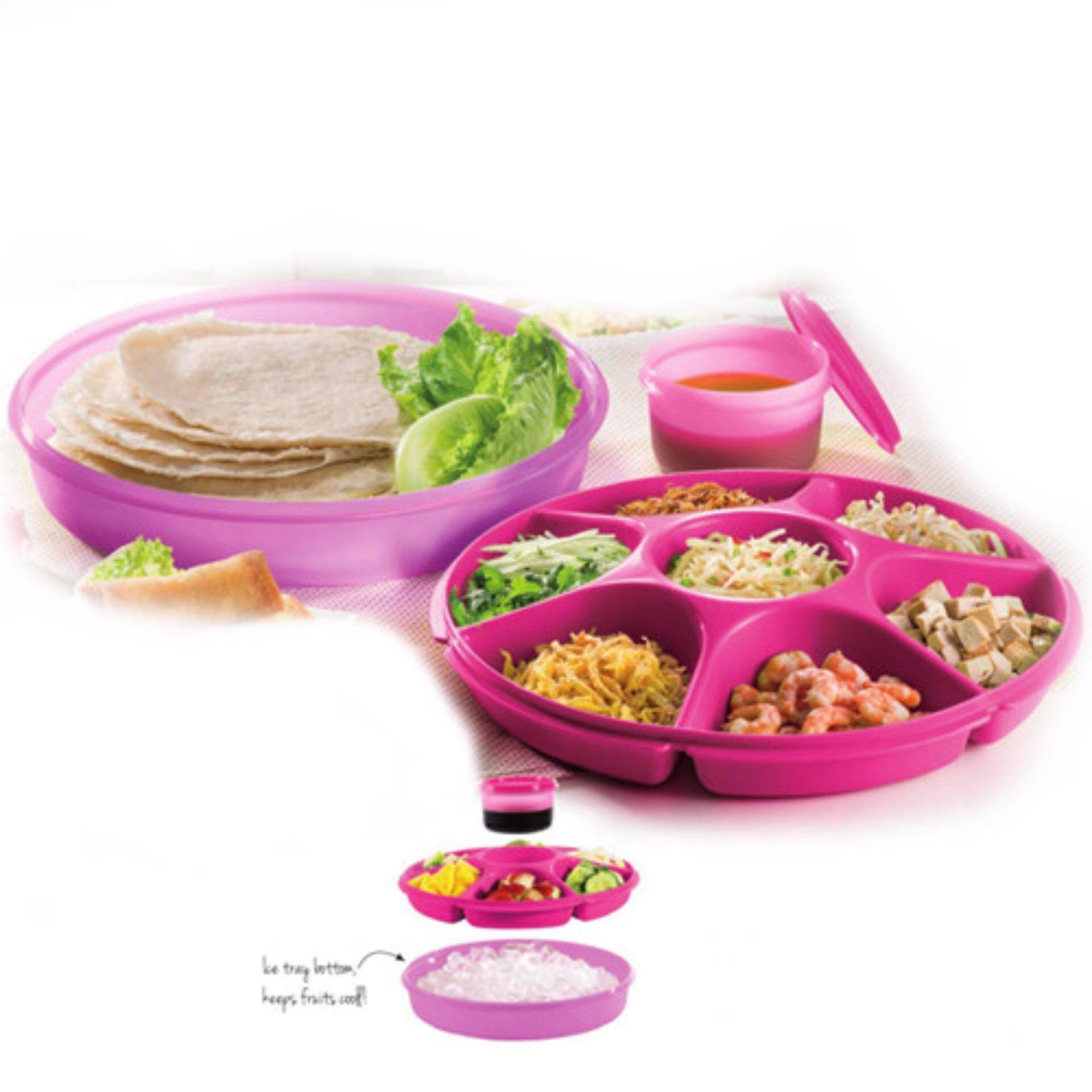 Tupperware Serving Center (1) Pink