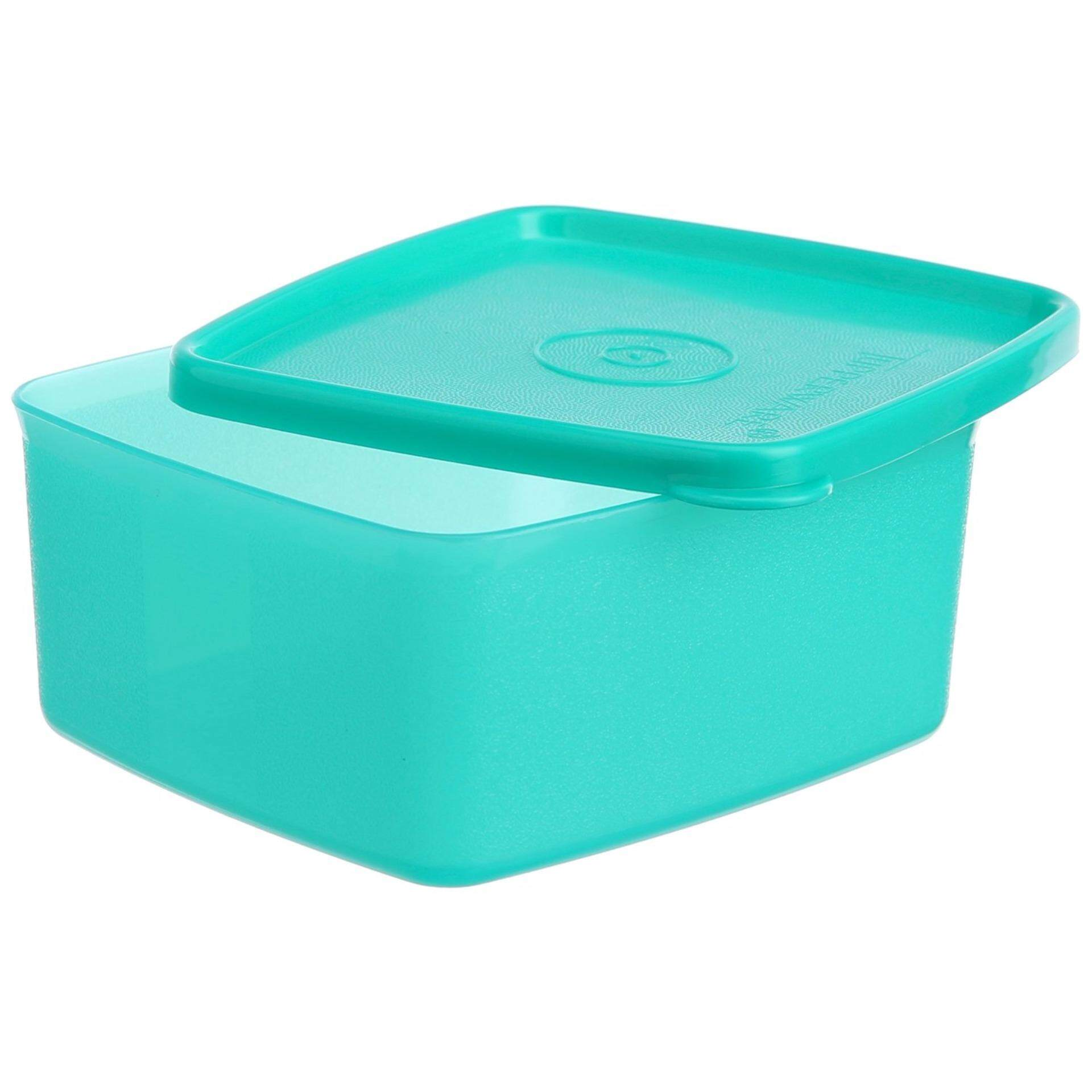 Tupperware Square Round (1) 400ml - Green