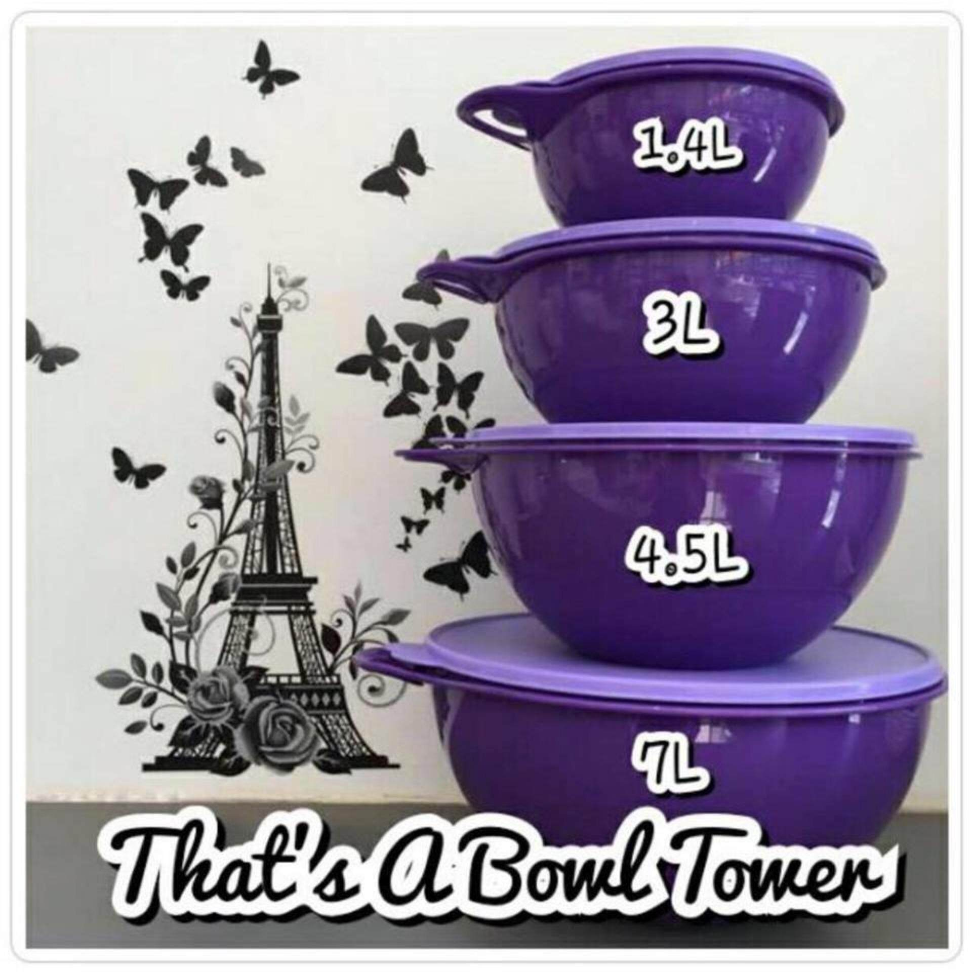 Tupperware Thats A Bowl Tower (1)4.5L Only - Purple
