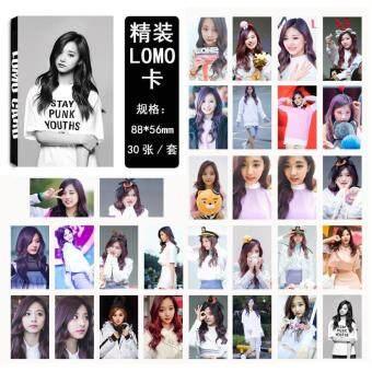 Twice Cheer Up Tzuyu Album Kpop LOMO Cards New Fashion Self MadePaper Photo Card HD Photocard
