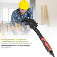 Hình ảnh Portable Wrench Big Opening Spanner Labor-saving Wrench Alloy Steel Wrench - intl