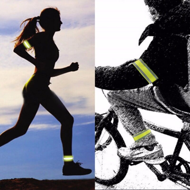 Buy Ultralight Safety Reflective Sport Arm Leg Straps Band for Outdoor Sports Accessories Night Cycling Protector Angel 2pcs Malaysia