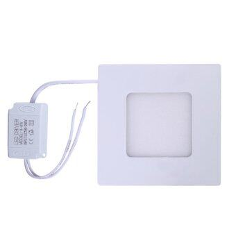 Ultrathin led panel downlight square recessed light ac185 265v 3w ultrathin led panel downlight square recessed light ac185 265v 3w mozeypictures Gallery