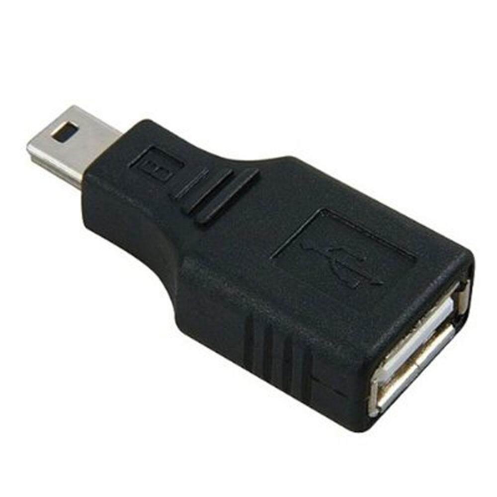 Umiwe USB 2.0 A Female To Mini USB B 5 Pin Male Adapter Converter - intl ...