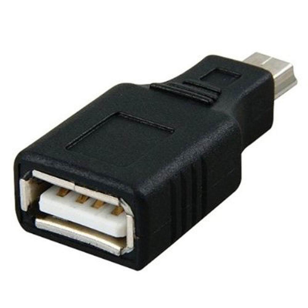 ... Umiwe USB 2.0 A Female To Mini USB B 5 Pin Male Adapter Converter - intl