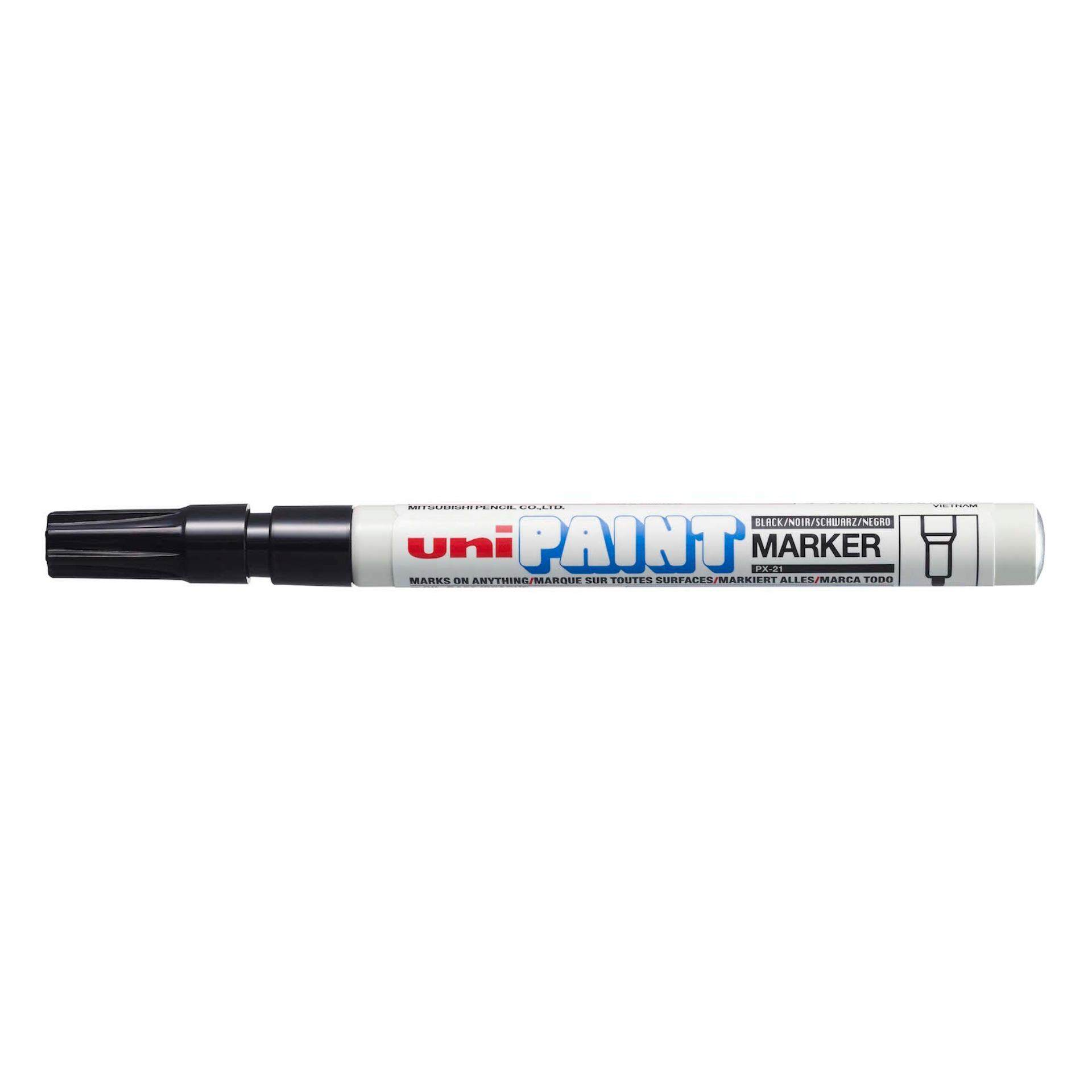 Uniball PX 21 Paint Marker Fine 12pcs/box (Black)