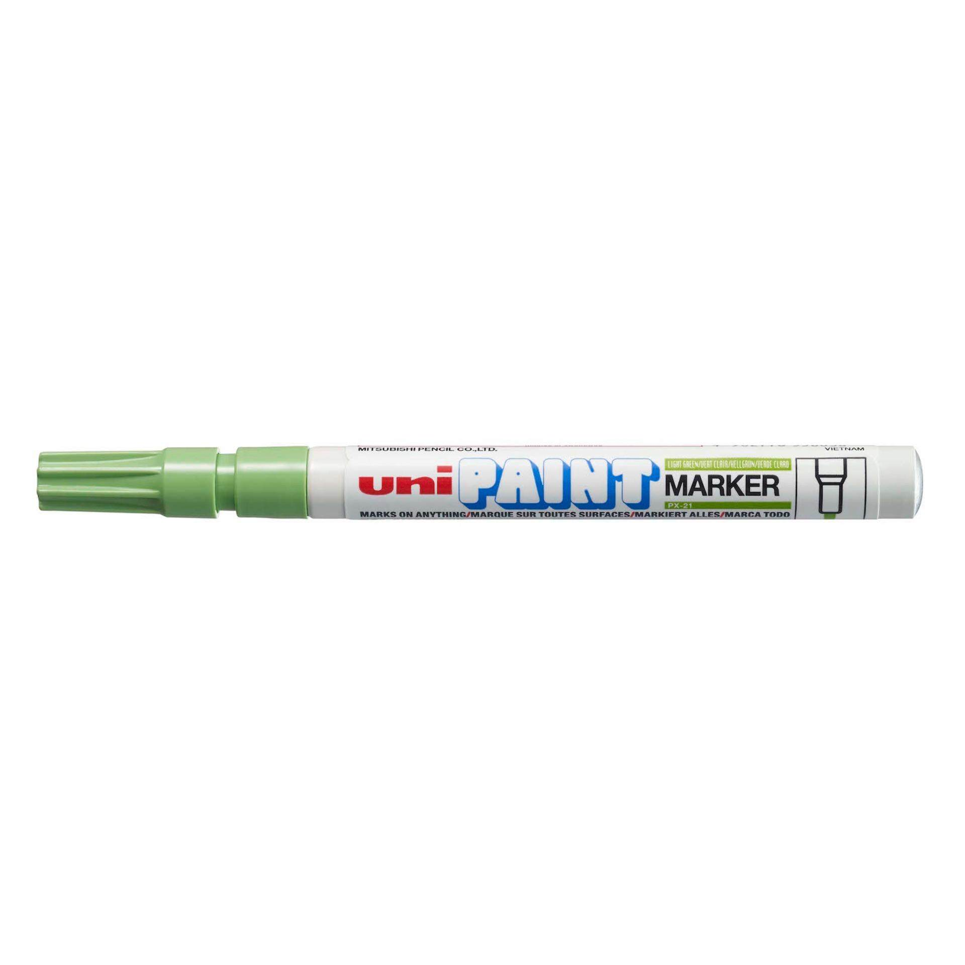 Uniball PX 21 Paint Marker Fine 12pcs/box (Light Green)