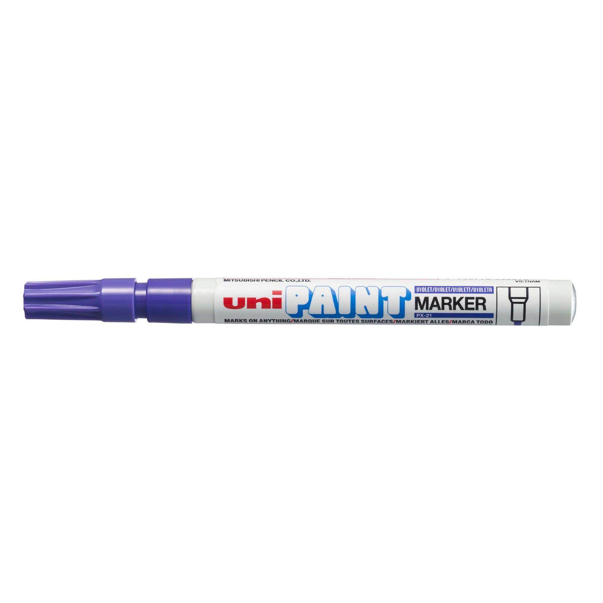 Uniball PX 21 Paint Marker Fine 12pcs/box (Violet)