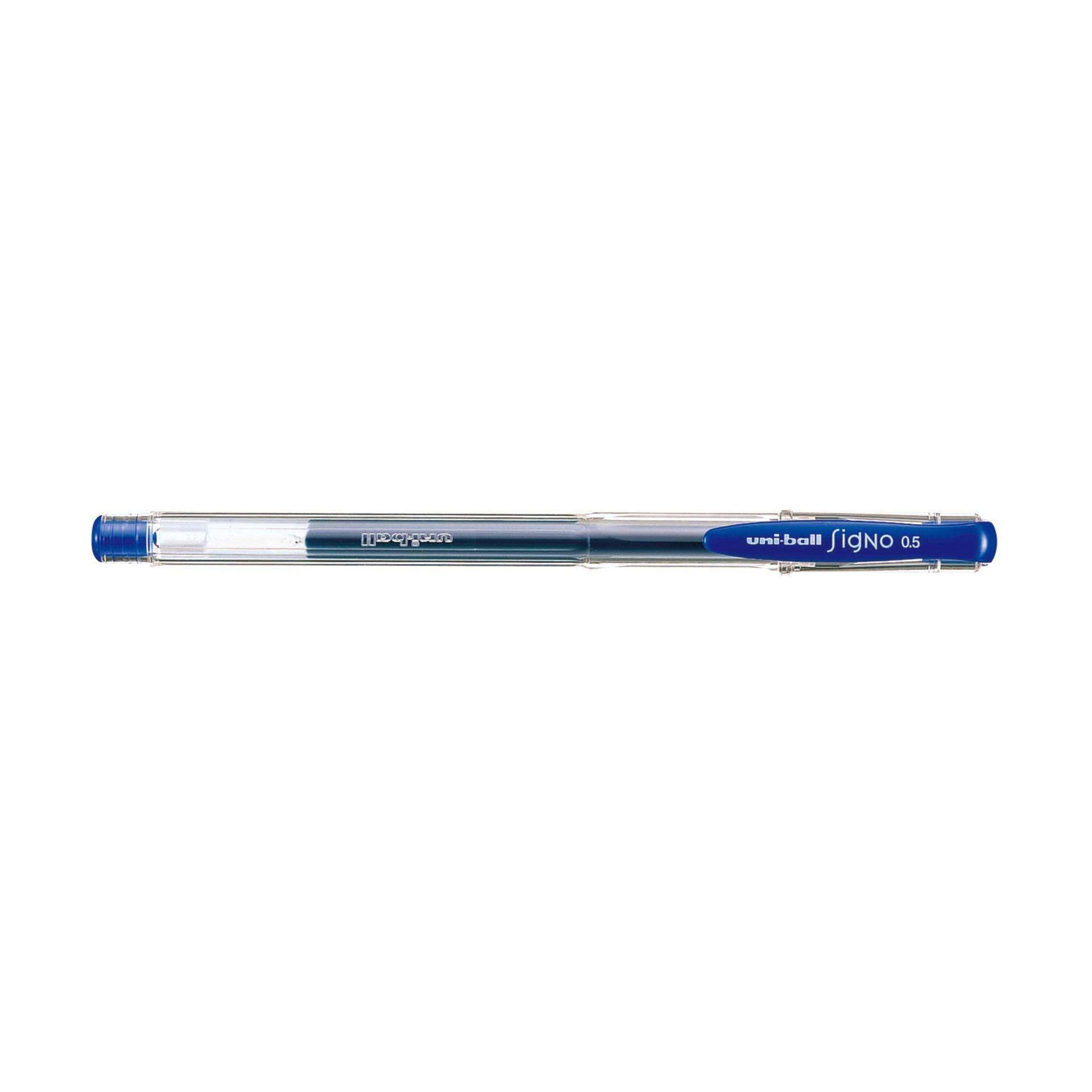 Uniball SIGNO Roller Gel Pen 12pcs/box 0.5mm (Blue Ink)