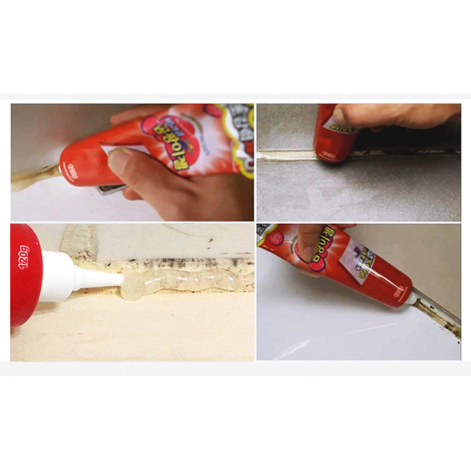Universal Mold and Fungus Cleaner Paste For Toilet Kitchen Balcony and Tiles From Korea
