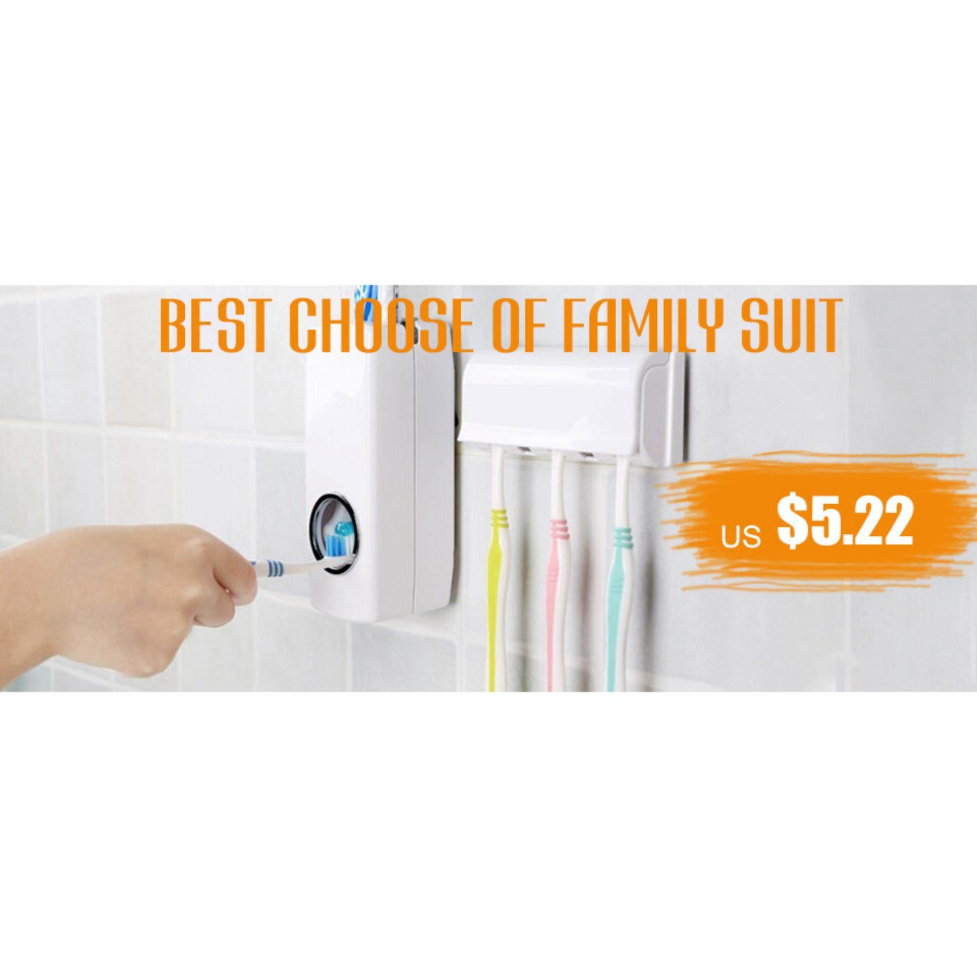 Kelebihan Uniwood Toothbrush Wall Mount Stand Bathroom Tools White 360do Tooth Brush For Baby Detail Gambar Intl Terbaru
