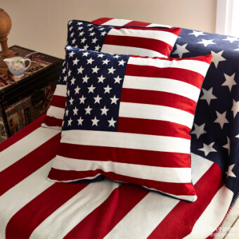 Us uk flag velvet pillow square pillow cushion sofa cushions with core union jack british retro special offer