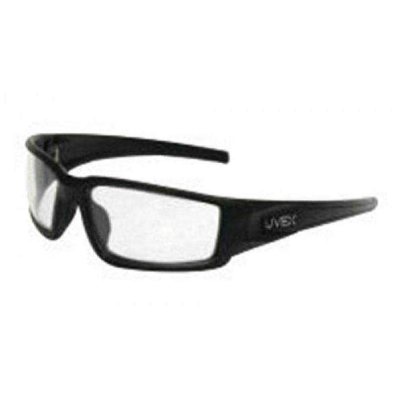 Buy Uvex by Honeywell Hypershock Protective Safety Glasses With Matte Black Polycarbonate Frame And Clear Polycarbonate Uvextreme Plus Anti-Fog Lens Malaysia