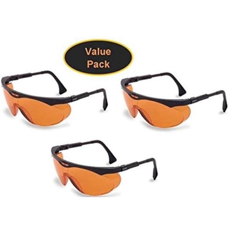 Buy Uvex S1933X Skyper Safety Eyewear, Black Frame, SCT-Orange UV Extreme Anti-Fog Lens Malaysia