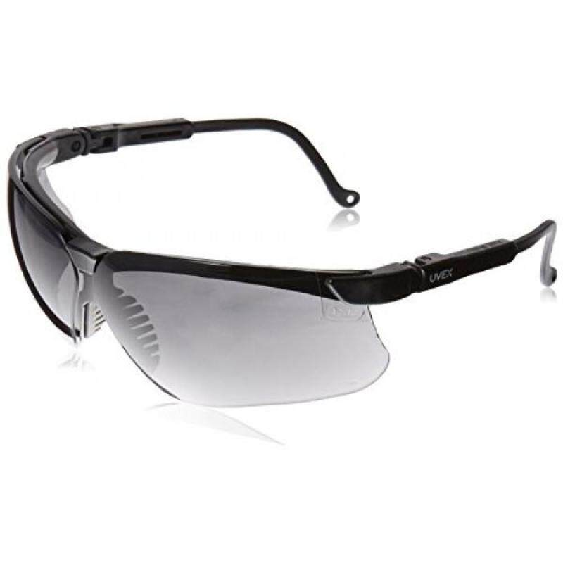 Buy Uvex S3212X Genesis Safety Eyewear, Black Frame, Dark Gray UV Extreme Anti-Fog Lens Malaysia