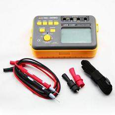 Buy VICTOR VC60B+ Digital Insulation Resistance Tester Megohm Meter DC250/500/1000V AC750V Orange with Black Malaysia