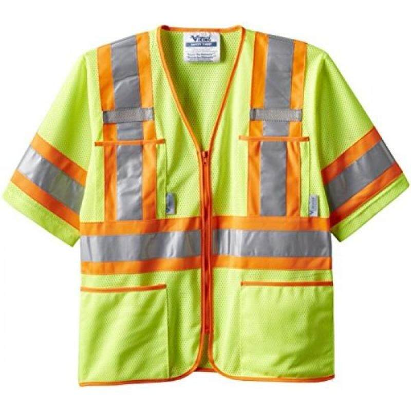 Buy Viking Class 3 Hi-Vis Safety Vest, Green, XX-Large Malaysia