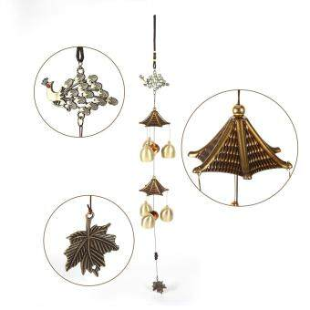 Vintage Bells Wind Chimes Door Window Hanging Decoration