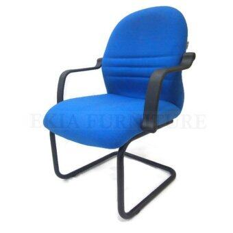 Visitor Lowback Chair with Cantilever Base(Blue)
