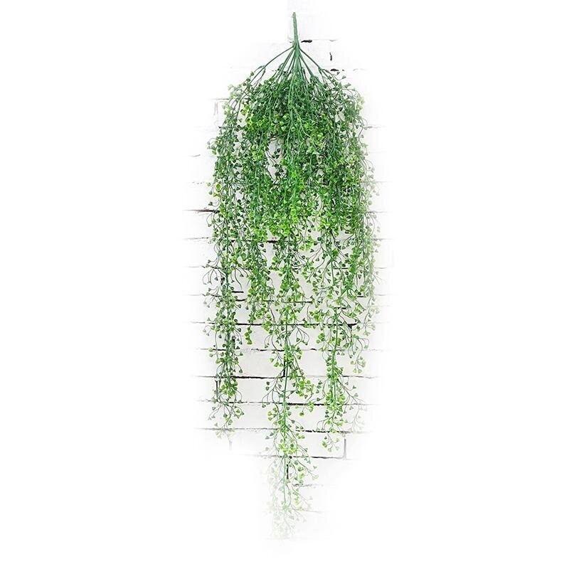 Wall Decoration Hanging Vine Plant Leaves Home Garden 115 CM Artificial Fake Plant - intl