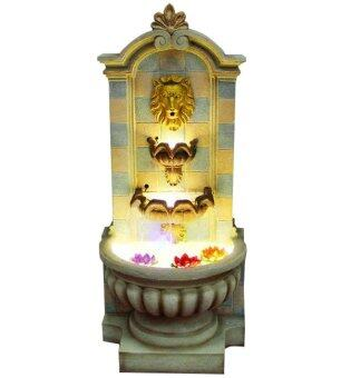 WATER FOUNTAIN LION HEAD LX8238 FENG SHUI HOME DECORATION