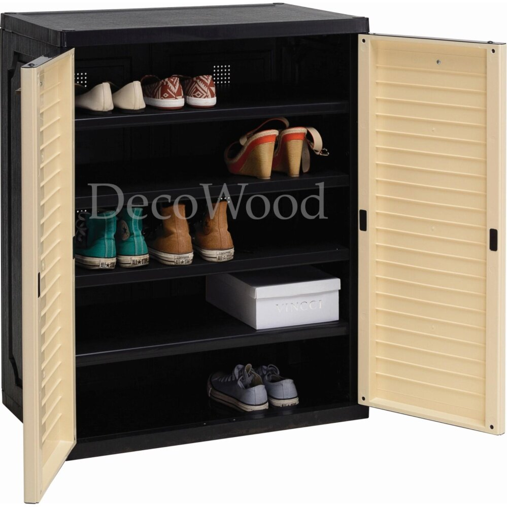 WATER-PROOF 5 Layer Shoes Cabinet Shoes Rack Shoes Storage Rack Kasut Cabinet Kasut Simpan Kasut L760MM X W460MM X H490MM Pre Order 2 Week