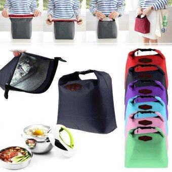 Harga Waterproof Thermal Cooler Insulated Lunch Box Portable Tote StoragePicnic Bag