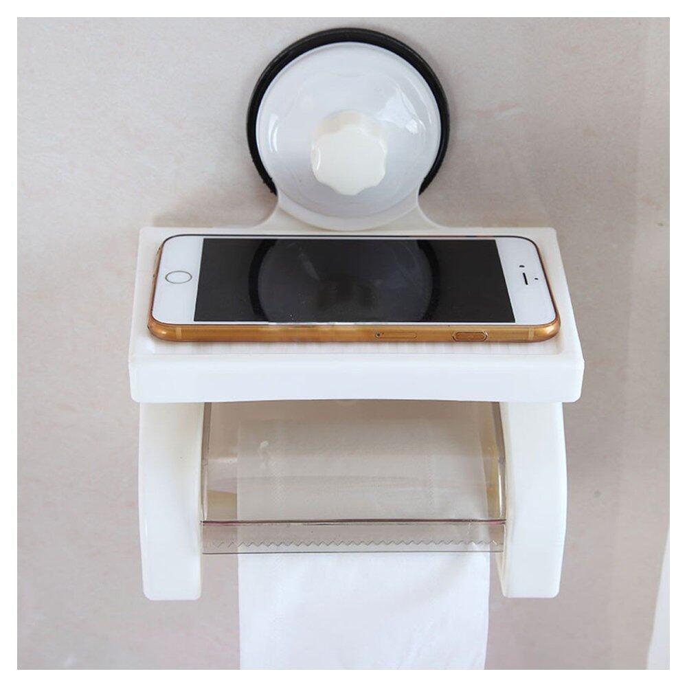Smiley Tempat Tisu Unik Dan Lucu Coklat Putih4 Daftar Harga Tissue Holder Dapur Gulung Gantung  Hbh033 Gambar Produk Waterproof Toilet Paper Roll Stand Box With Shelf Rack Bathroom Intl