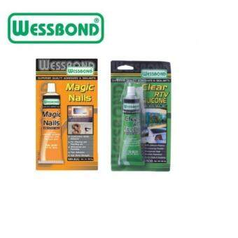 Wessbond Clear RTV Silicone & Magic Nail w/o Nail (2in1)