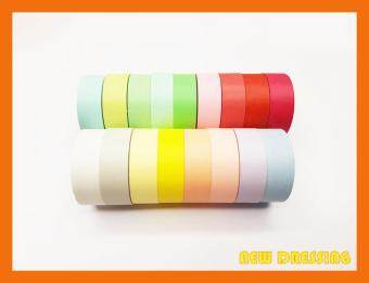 Harga WH069 - Light Plain Colour Washi Tape (10 Colours/Set)