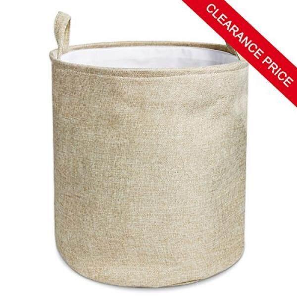 Wimaha Khusus Harga Jual Wimaha Polos Lipat Linen Laundry Hamper Keranjang Pakaian Hamper, 13X15-Internasional