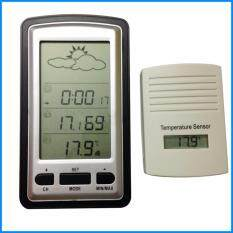 Buy Wireless Weather Station With Outdoor Temperature Indoor humidity Time Display LED Backlight Malaysia