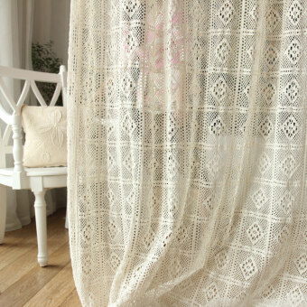 Harga Wnhome things read Foreign Trade windows and semi-translucent lace Fabric