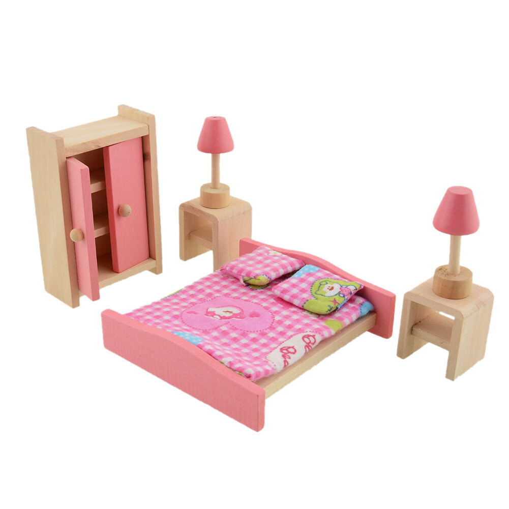 Wooden Doll Bathroom Furniture-Bedroom - intl