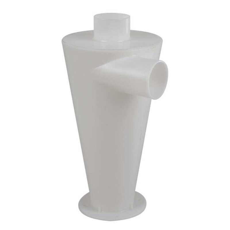 WSmall Cyclone Powder Dust Collector Filter (White)