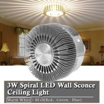 Harga XCSource 3W Spiral LED Ceiling Sconces (Warm White) LD648