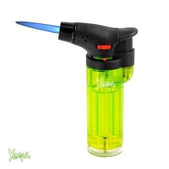 Yeepi Jet Flame Lighter 4200 Powerful Jet Lighter's, WindproofLighters, Real Powerful Lighter. Wind Proof Lighter, Green GasLighter (1)