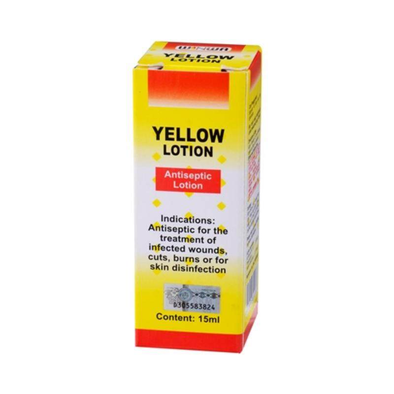 YELLOW LOTION 15ML (3 bottle in pack)