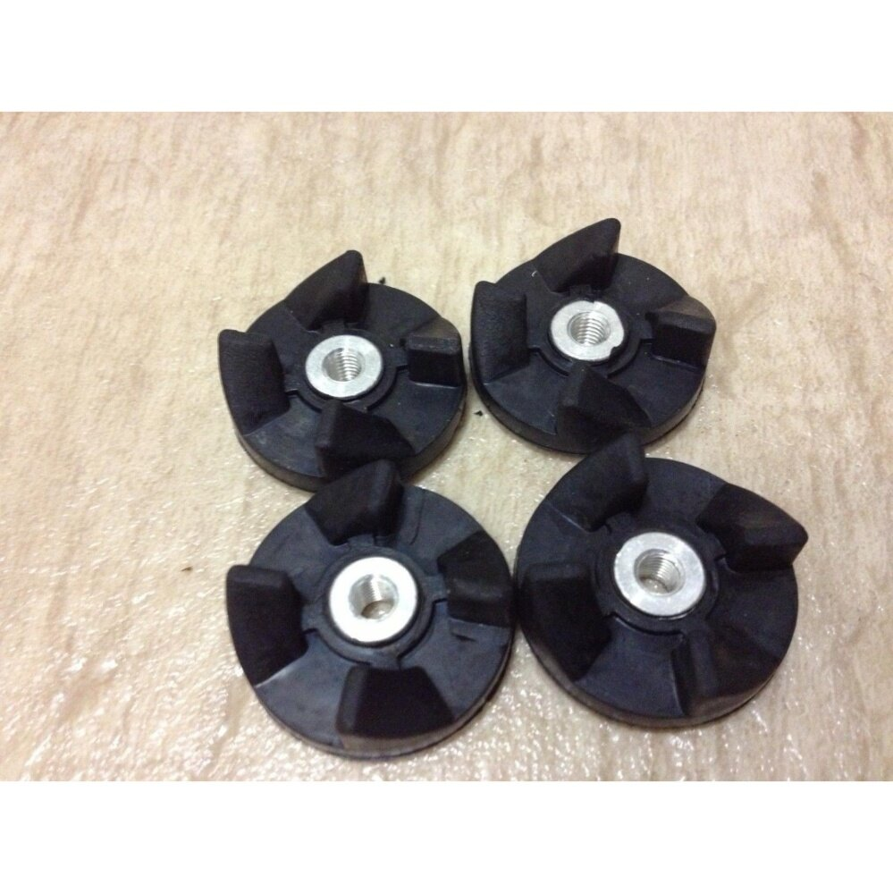 Detail Gambar Yika 4pcs Replacement Parts Rubber Gear Spare Part for Magic Bullet (Cross/Flat blade) - intl Newest