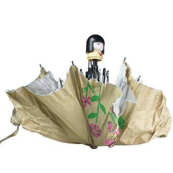 ... yooc Super Lovely Cute Doll Hand Bottle Folding Umbrella For UV Protection Malaysia