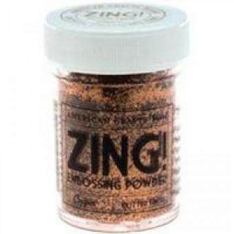 Harga Zing Glitter Embossing Powder - Copper Glitter