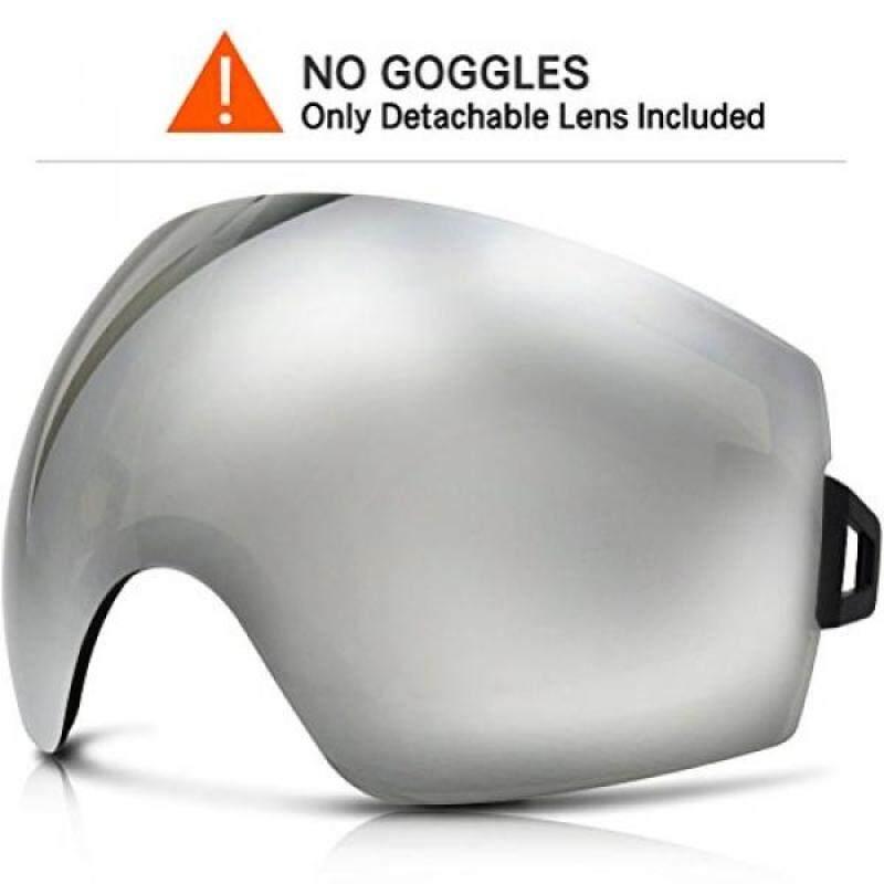 Buy ZIONOR Xki Snowboard Goggles with UV Protection Anti-fog OTG Spherical Lens Anti-slip Strap for Men Women Malaysia